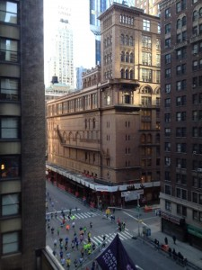 View of Carnegie Hall